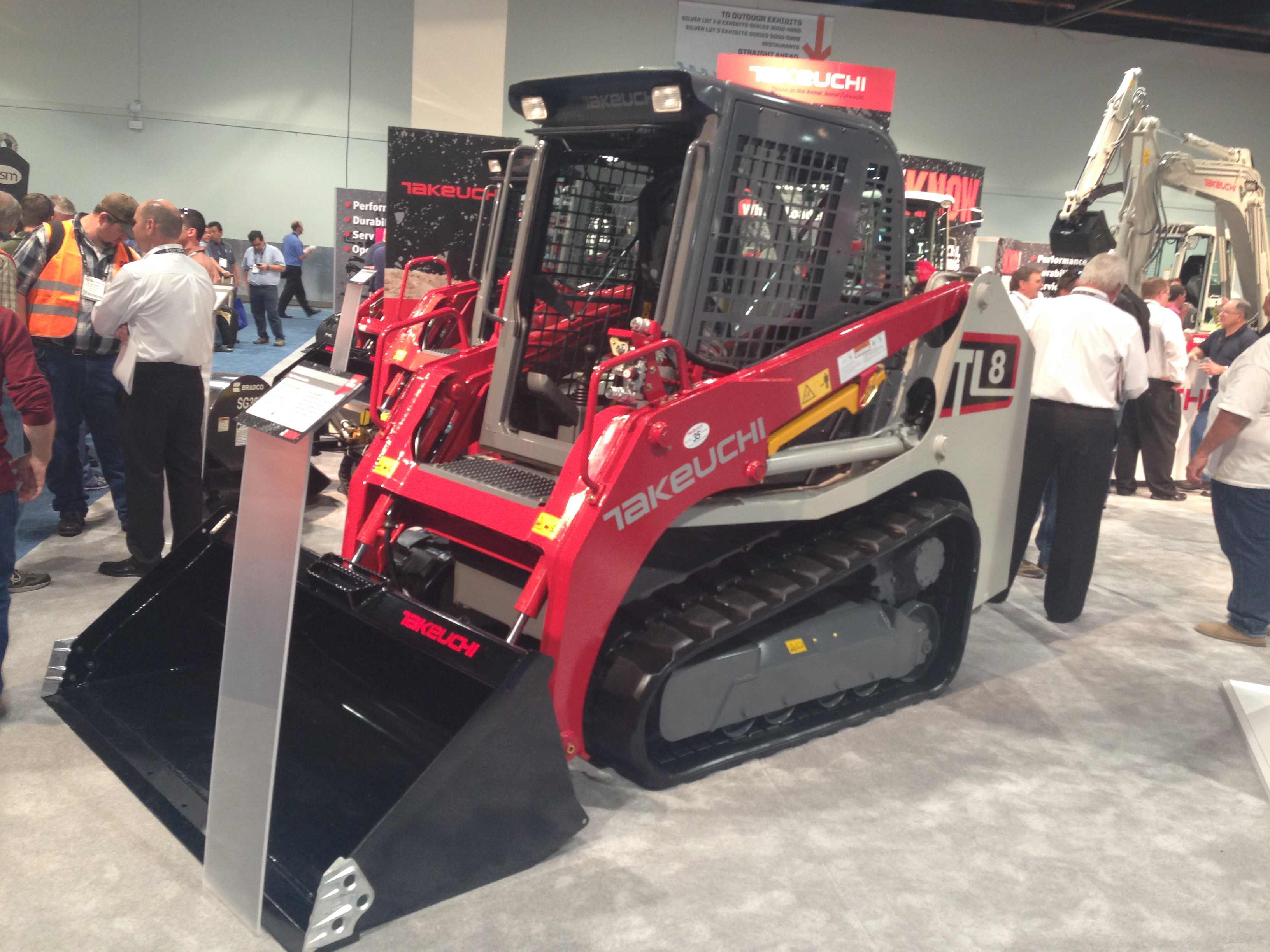 Takeuchi launches 2 compact loaders, 4 compact excavators