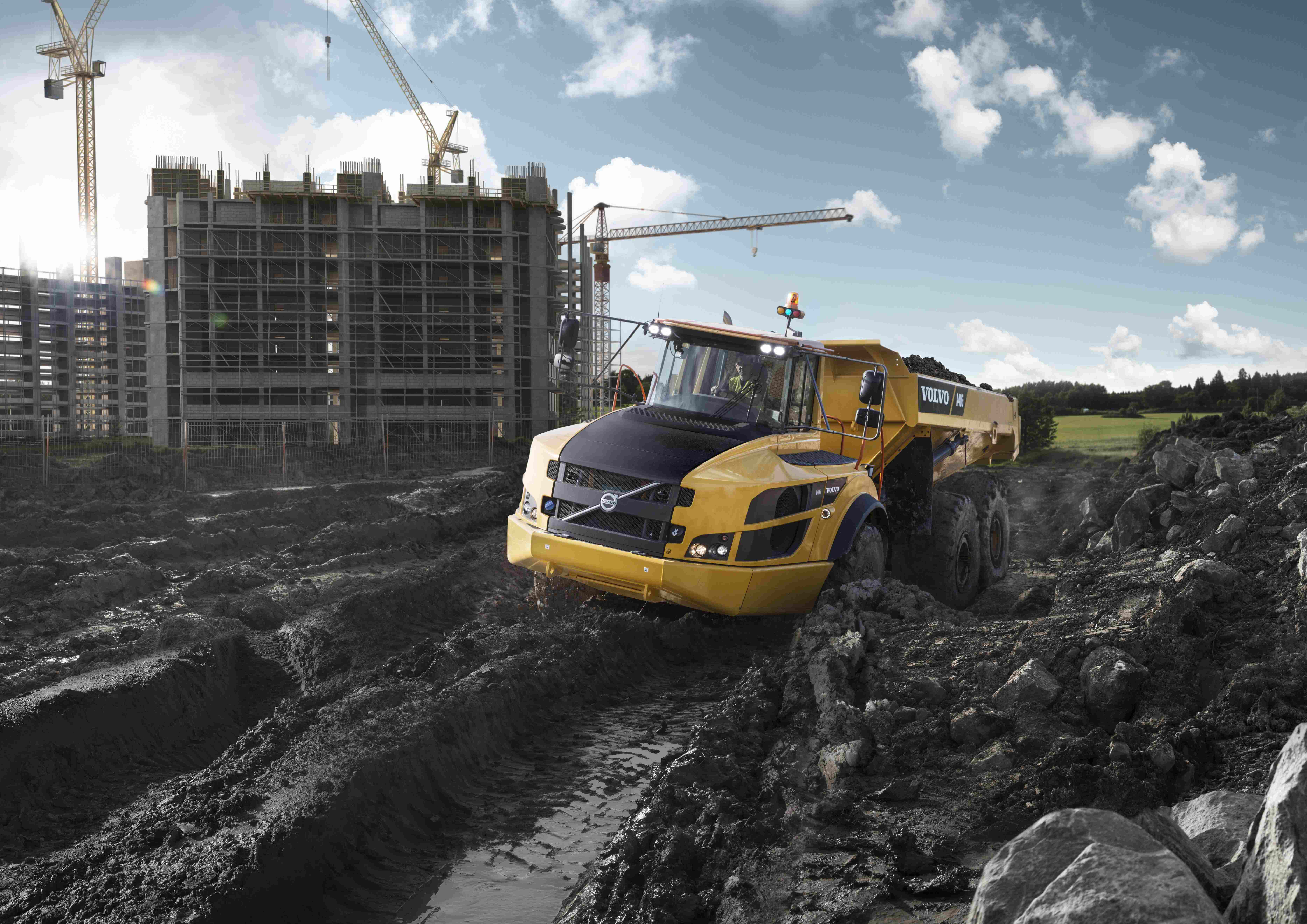 Volvo Launches Tier 4 Final Engines E Series Excavators