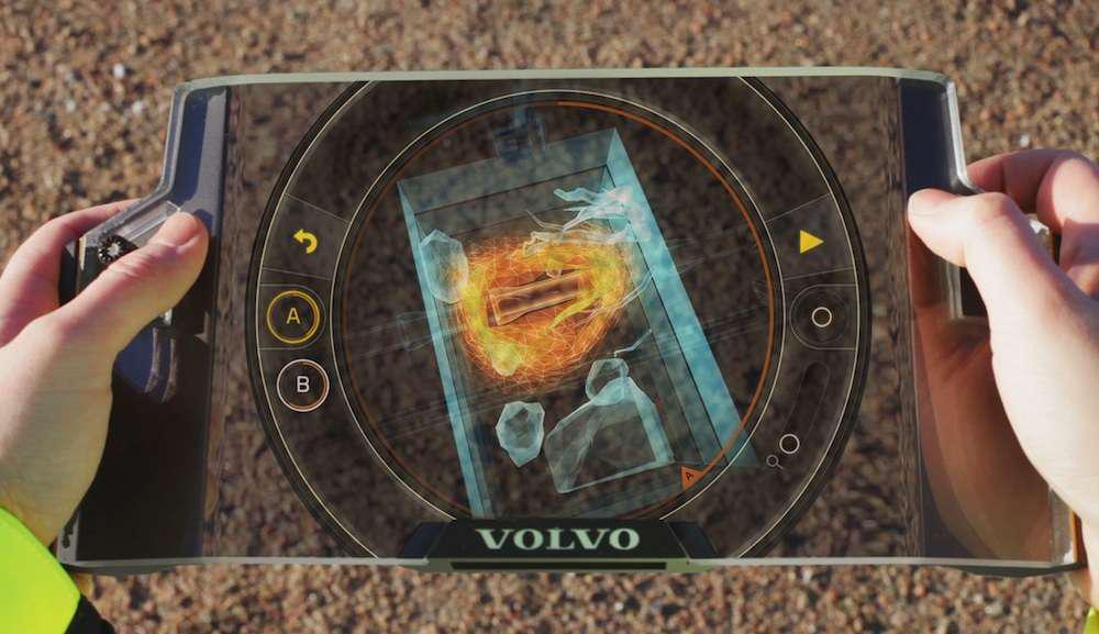 Volvo @ CONEXPO - GaiaX augmented reality key controller