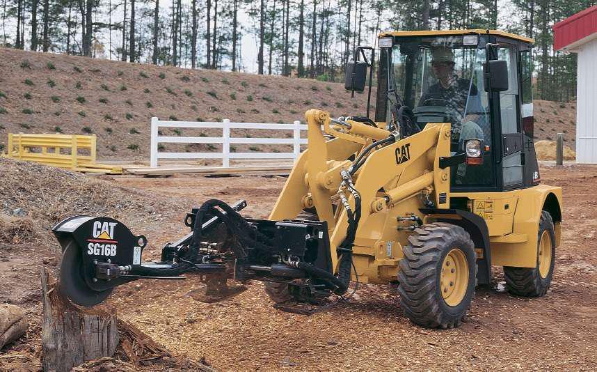Cat 904B compact wheel loader