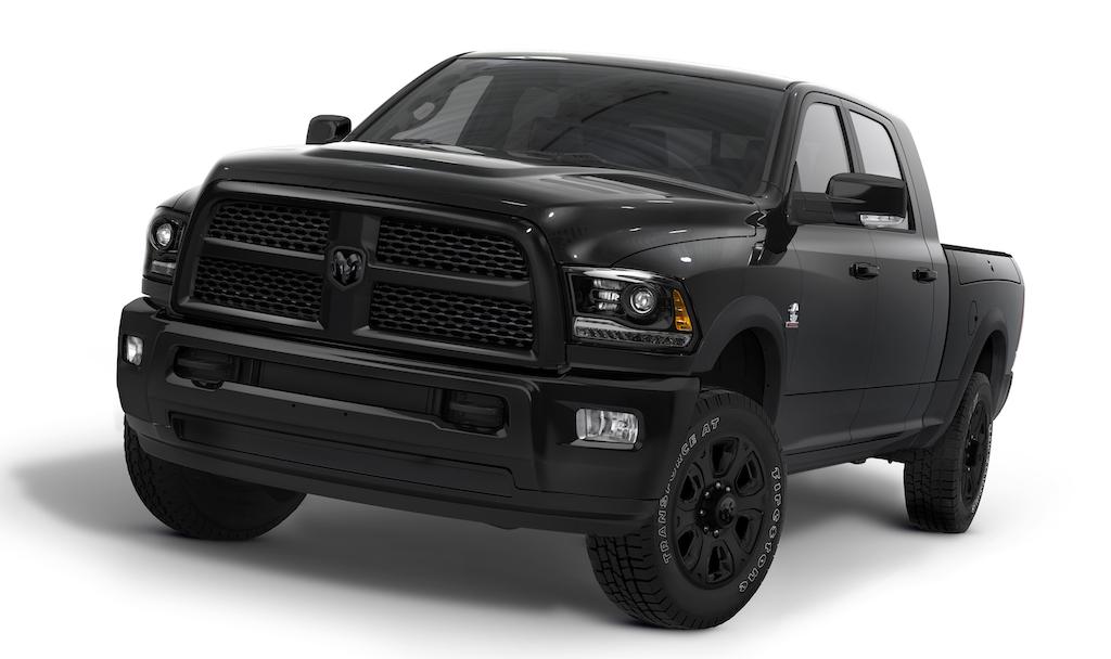 2014 Ram Heavy Duty Black