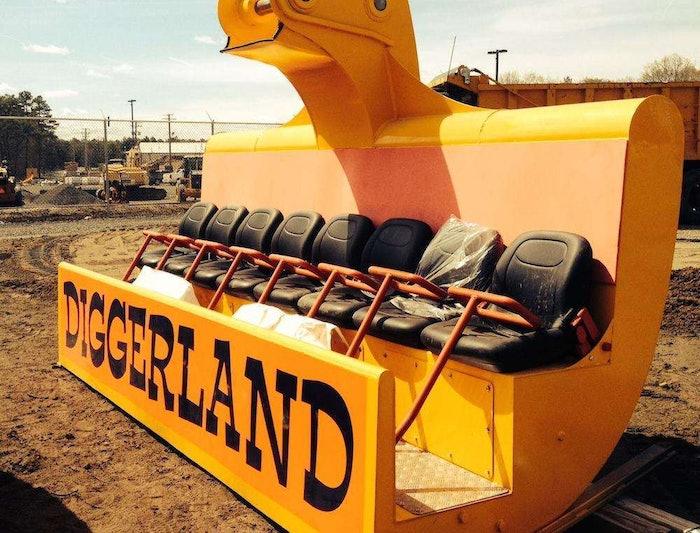 diggerland spin dizzy bucket
