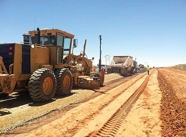 Geosynthetics of all types speed construction