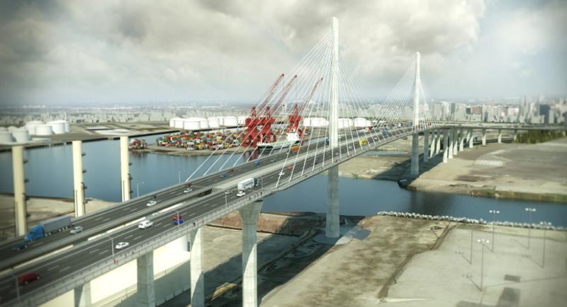 (Photo credit: Gerald Desmond Bridge Replacement Project)