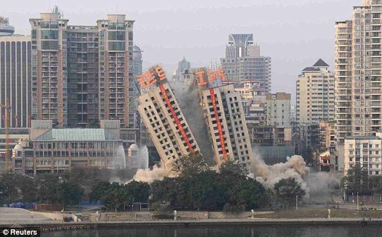 failed chinese demolition