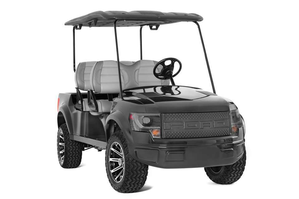 2014 Ford Raptor For Sale >> This official Ford Raptor golf cart lets you rove the ...