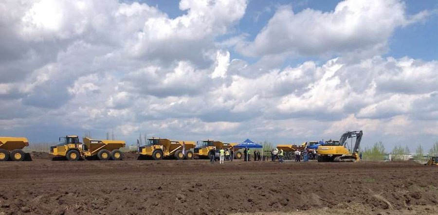 Topcon's second stop on its technology Roadshow was in Red Deer, Alberta, Canada. (Photo credit: Topcon)