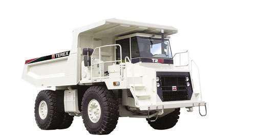 Terex TR35 rigid dump truck