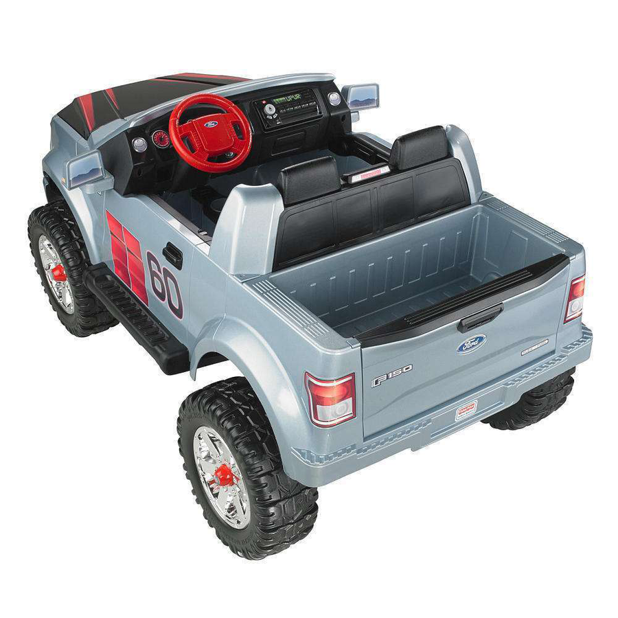 Fisher price power wheels f150 5 better roads