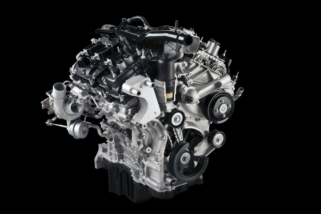 The 2.7-liter EcoBoost V6 makes 325 hp and 375 lb.-ft. of torque.