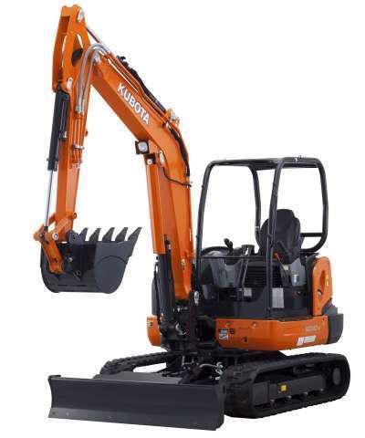 Kubota Hydraulic 6-in-1 Blade KXO40-4 compact excavator