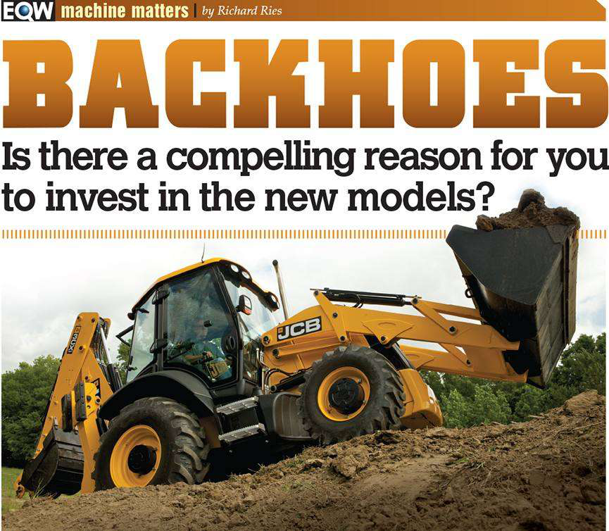 Should you buy a new backhoe now or wait for the Tier 4 debate to
