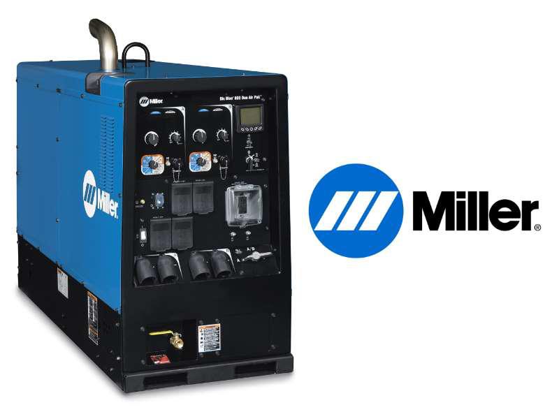 Miller Big Blue 800 Duo Pro diesel-engine weldergenerators