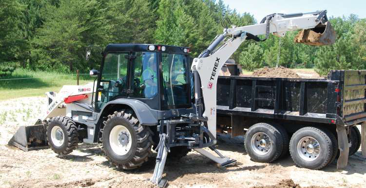 Used Backhoe Engines : Manitou buys terex s india based backhoe skid steer business
