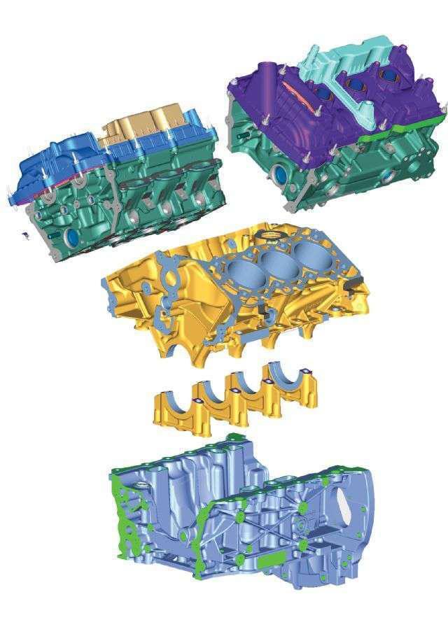 Ford 2.7L EcoBoost V6 design rendering