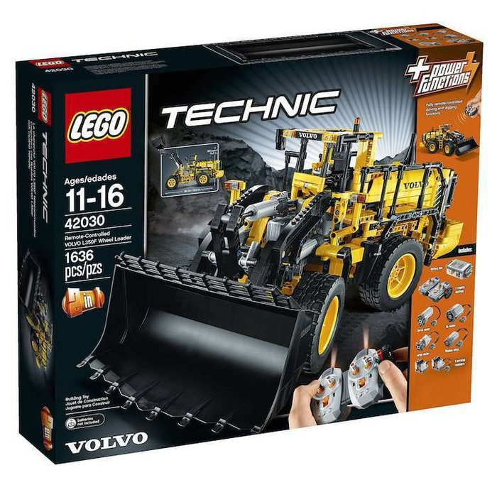 LEGO Technic Volvo L350F wheel loader A25F hauler set