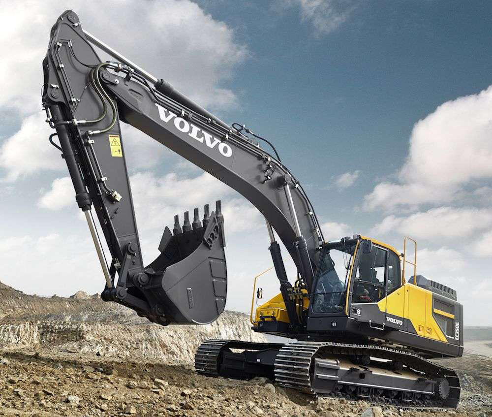 Volvo CE launches EC350E crawler excavator with updated