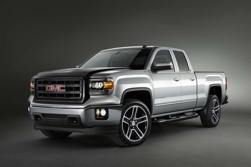 2015 Chevrolet Silverado 1500 Double Cab >> GMC unveils 2015 Sierra Carbon Editions with sport styling ...