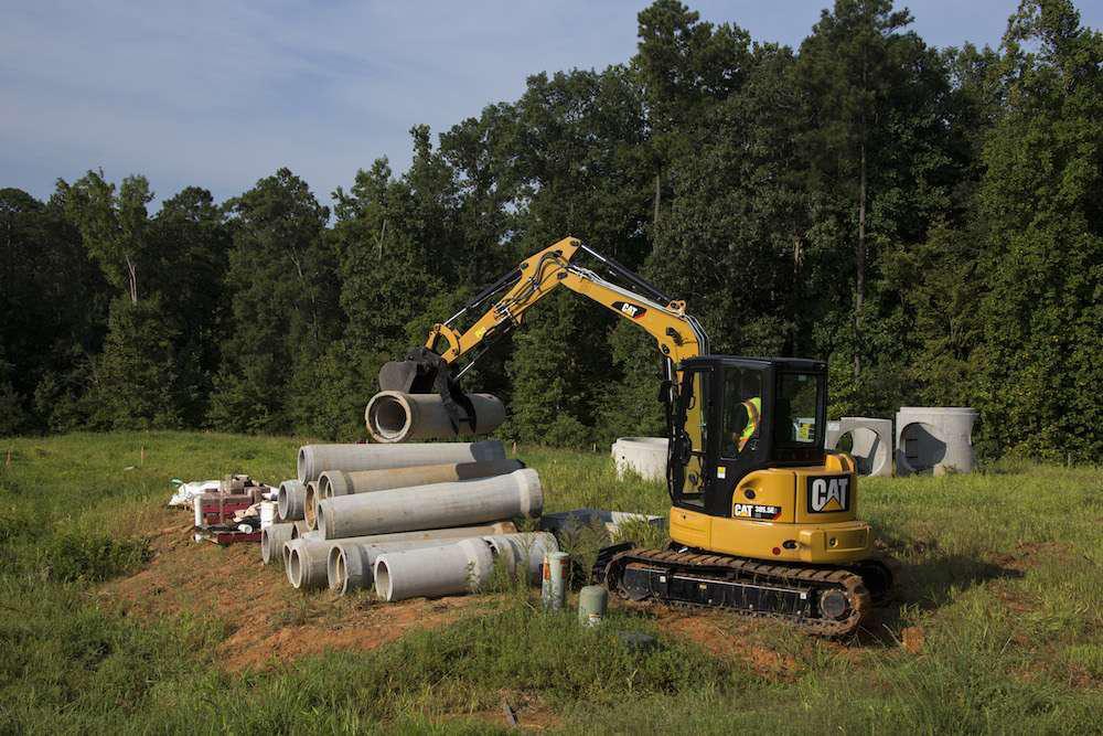 Caterpillar launches E2 Series mini hydraulic excavators