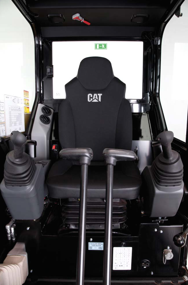 Caterpillar Launches E2 Series Mini Hydraulic Excavators With New Hi Def Hydraulics Redesigned Cab