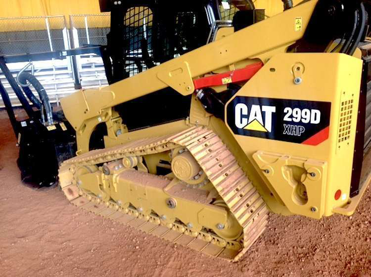 Caterpillar launches steel-tracked 299D XHP with land management package