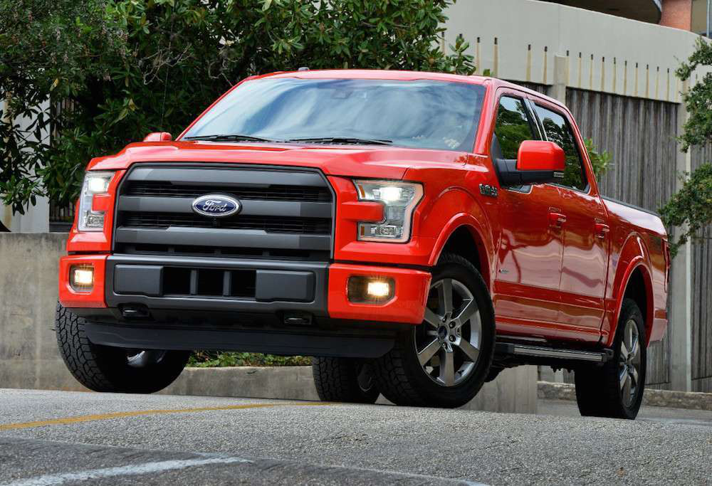 2015 ford f 150 grabs best fuel economy of all gas powered full size trucks thanks to 2 7l. Black Bedroom Furniture Sets. Home Design Ideas