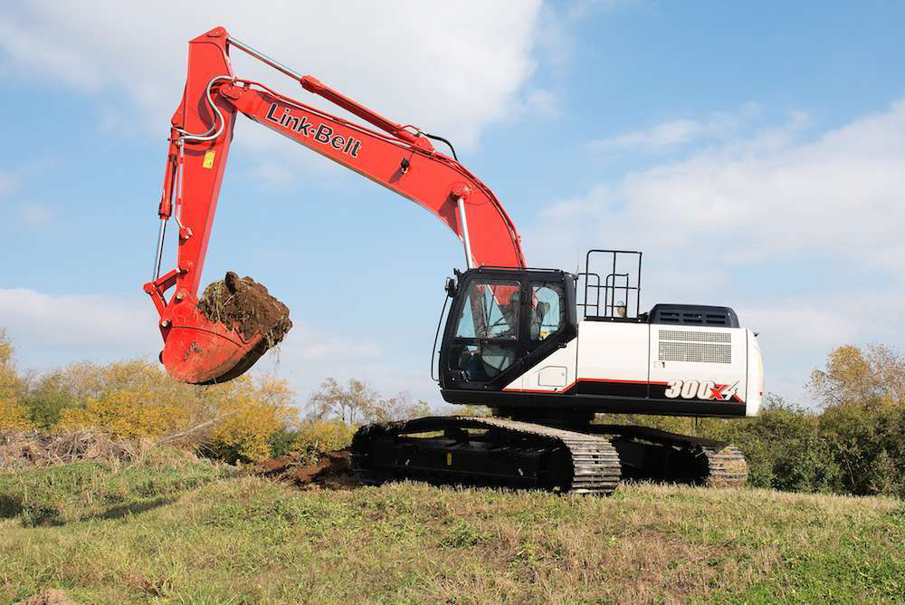 Link-Belt launches X4 series excavators with new hydraulics system (PHOTOS)