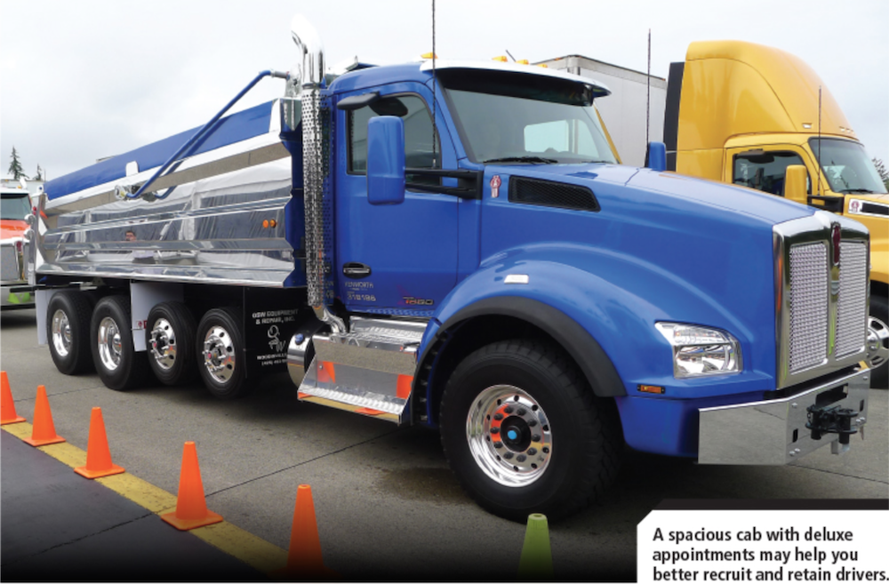 First Drive: Kenworth's new T880 vocational truck has a luxury feel