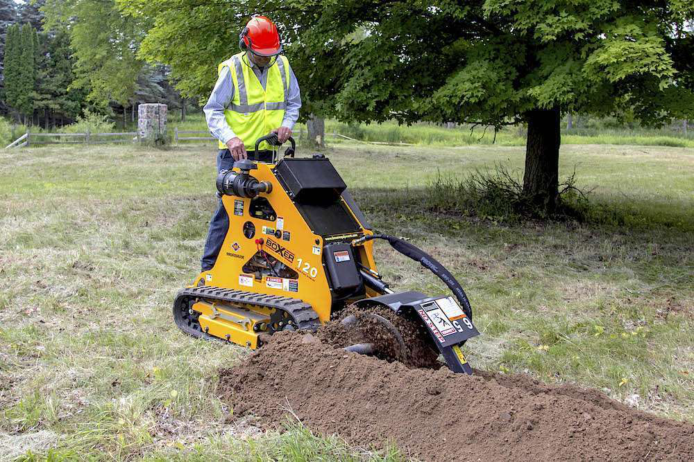 Boxer 118 Trencher Morbark launches redes...