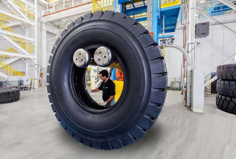 Commercial Tire Sizes >> PHOTOS: How Bridgestone builds giant off-road tires at its South Carolina plant