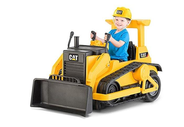 Caterpillar Kid Trax ride-on dozer for kids Power Wheels
