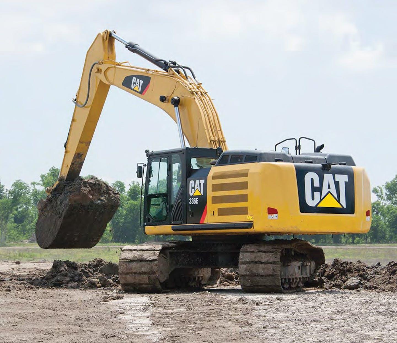 Cat 336E L hydraulic excavator