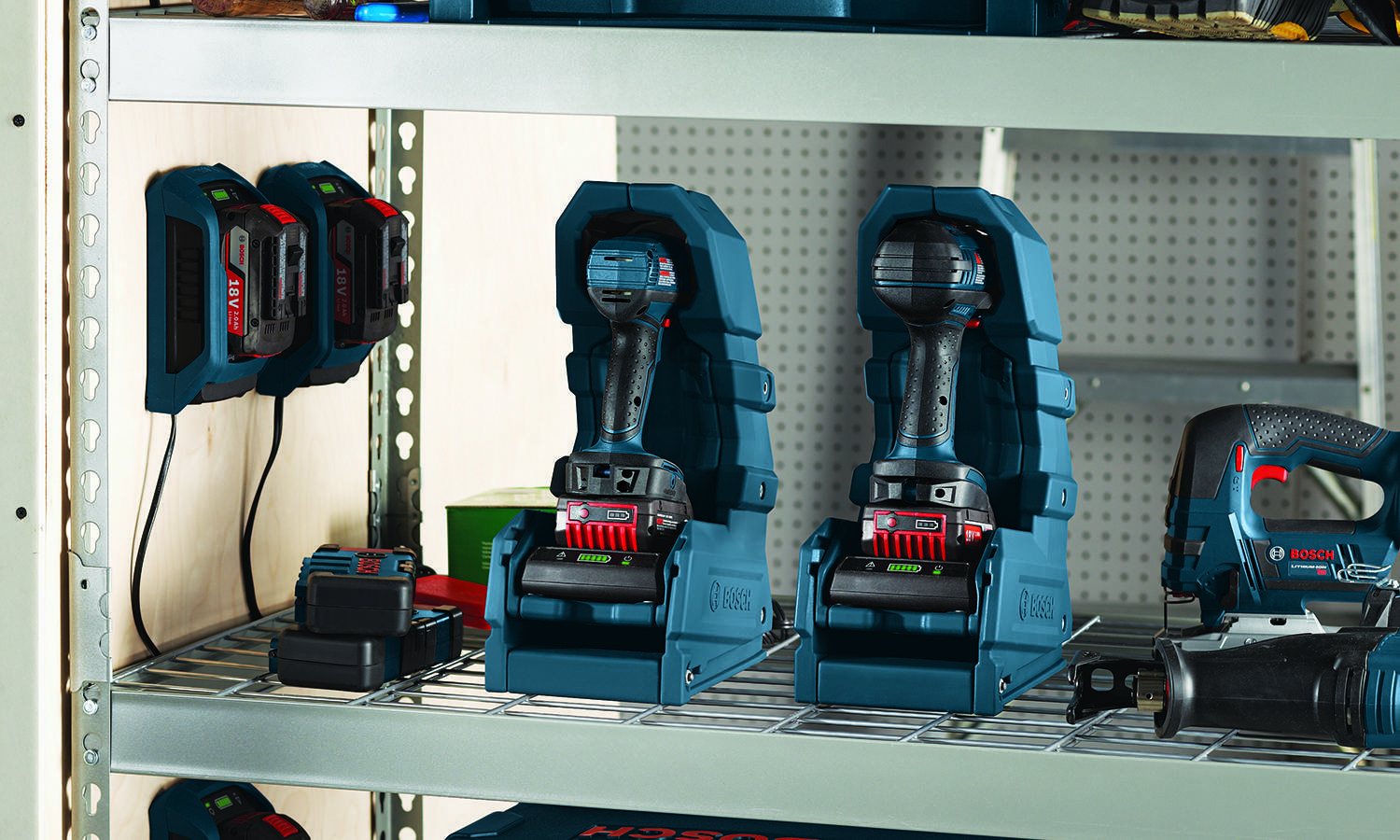 Bosch Debuts Wireless Charging System For Power Tools
