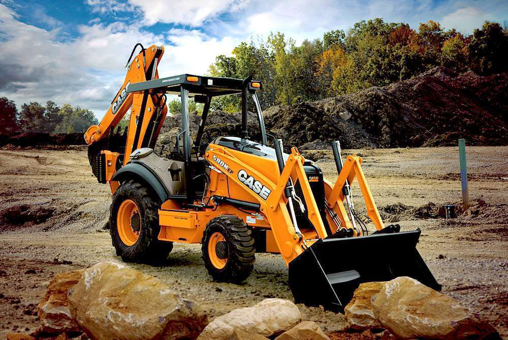 Case 580 Backhoe >> Case launches a new backhoe: 580N EP aimed at rental, entry-level contractors; upgrades all ...