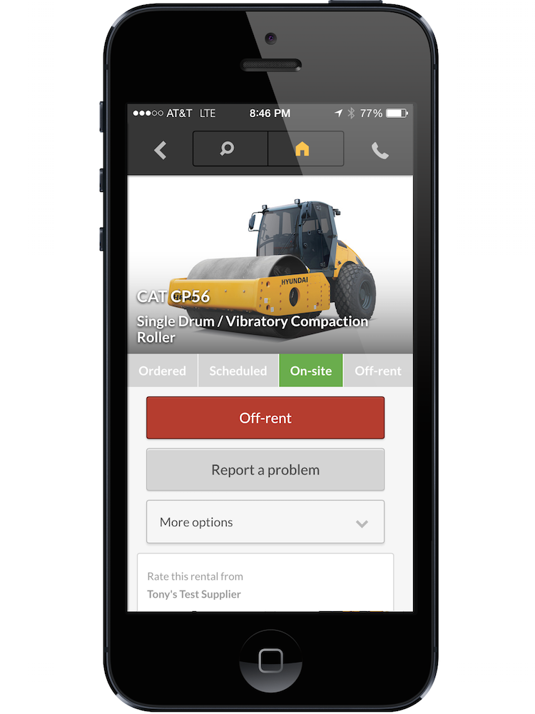 Nice There Are Two Versions Of The Free App: One For Contractors And Another For  Suppliers. The App Allows Contractors To Rent Equipment Across A Network Of  ...