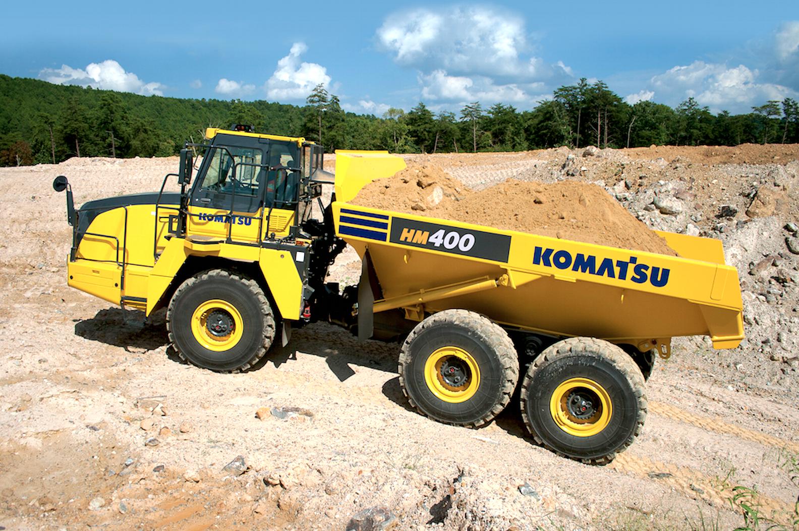 Komatsu Hm400 5 Articulated Dump Truck
