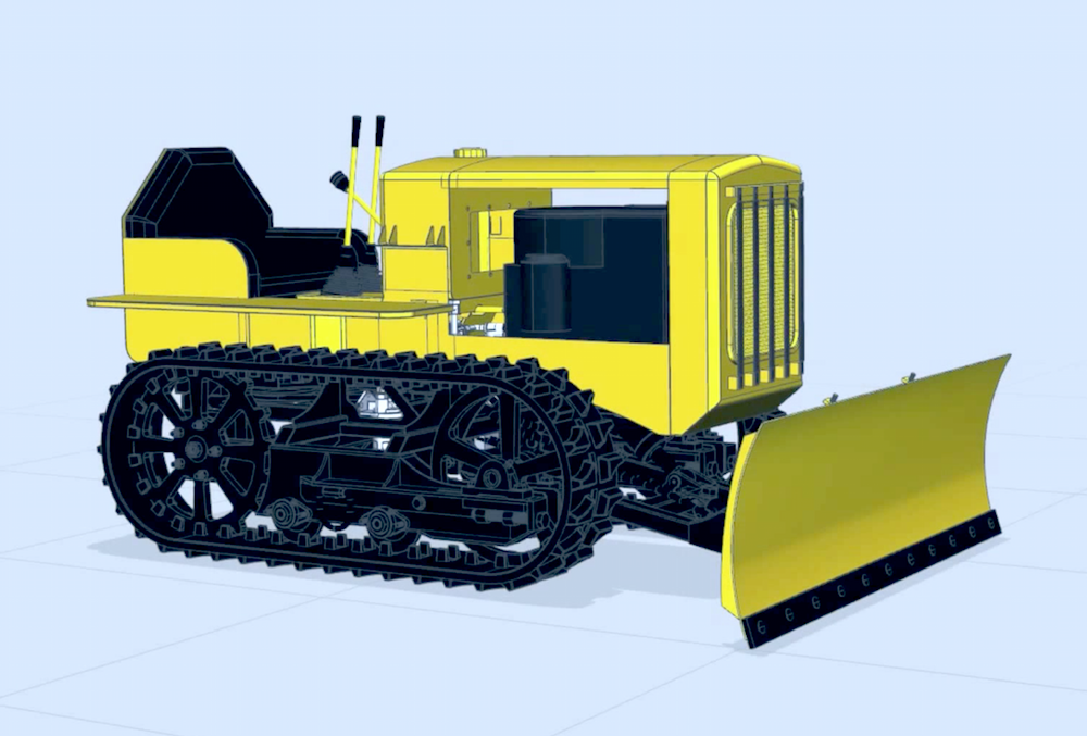 Mini Cat Model 22 CAD design