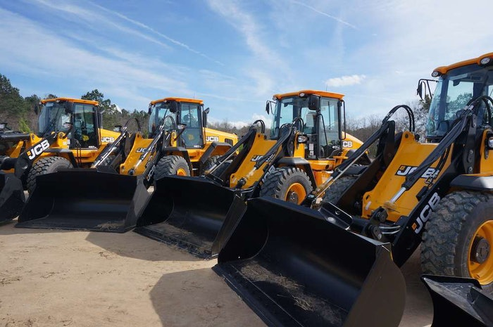 JCB 411, 417, 427 and 437 wheel loaders