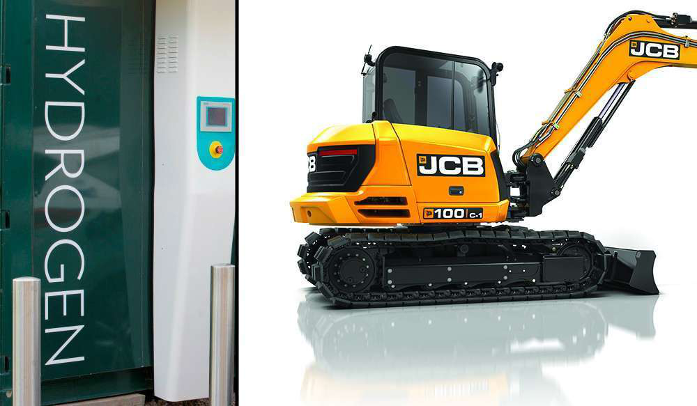 JCB just bought a controlling stake in a hydrogen fuel cell company