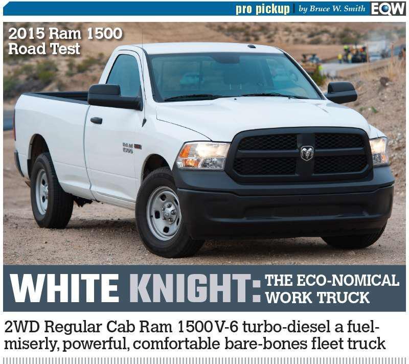REVIEW 2015 Ram 1500 EcoDiesel Tradesman achieves work truck