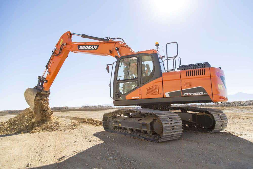 Doosan unveils 5 new crawler excavators ranging from 14 to
