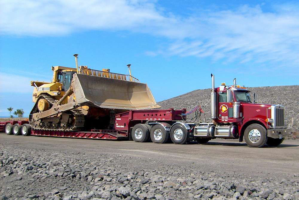 Heavy Equipment Trailer : A heavy hauler s guide for managing load distribution