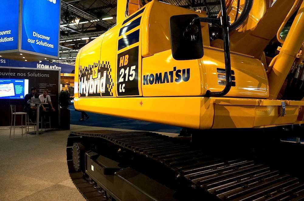 More than 3,200 units of the Komatsu's hybrid excavator, now in its third iteration, have been sold in the past five years.