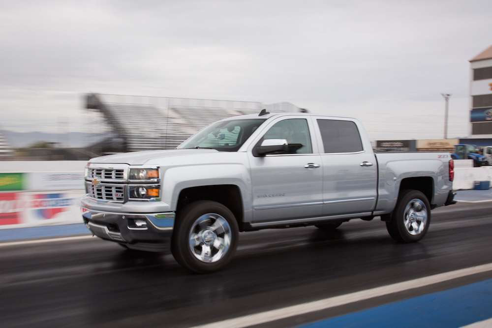 PICKUP THROWDOWN II: Chevy Silverado impresses on track and road in
