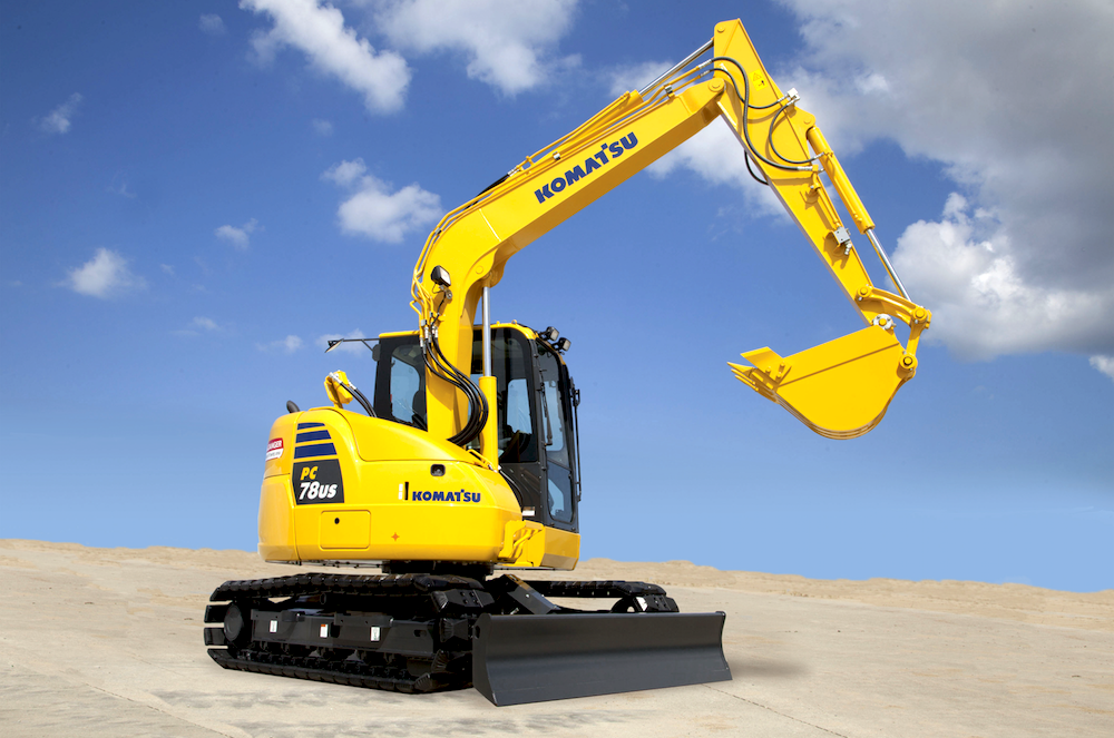 Diesel Exhaust Fluid >> Komatsu intros PC78US-10 tight tail-swing excavator with new cab, productivity boost