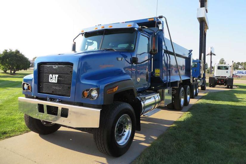 Caterpillar CT681 vocational truck