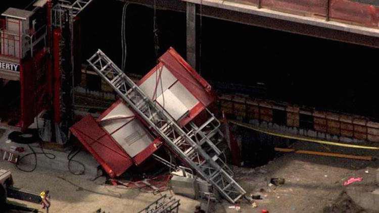 Hoist Detaches From Building Killing 1 Construction Worker