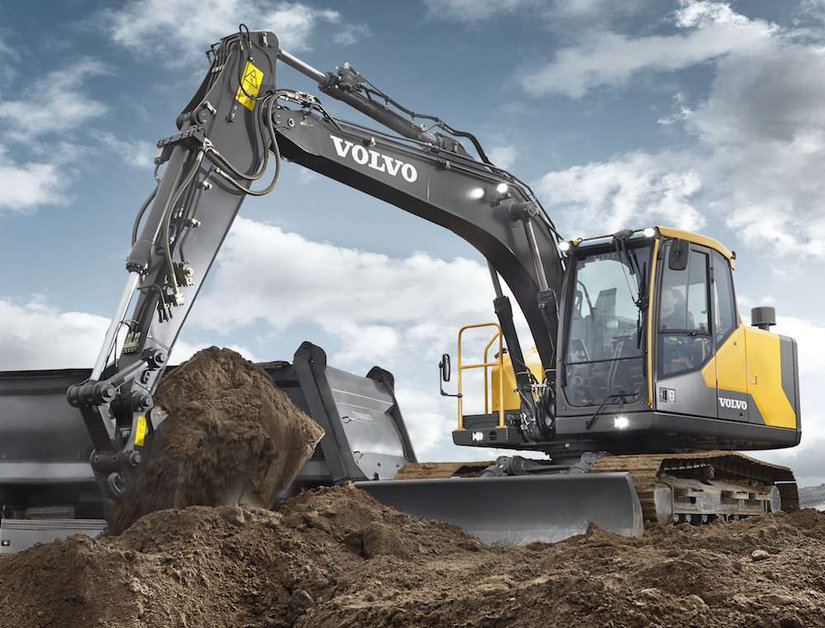 Volvo Ce Unveils Ec140e Excavator With Improved Cab More