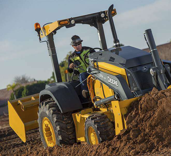 John Deere launches 210L/EP tractor loaders with control ... on