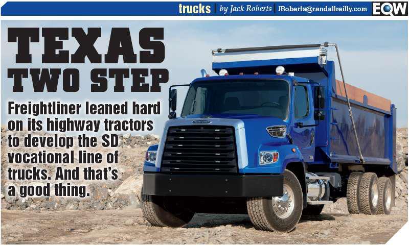 TEST DRIVE: Freightliner's 108SD, 114SD work trucks blend